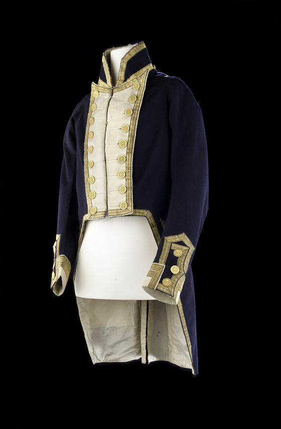 Captain's full dress coat (without epaulets), post 1812