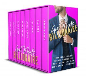girl meets billionaire box set 3D cover